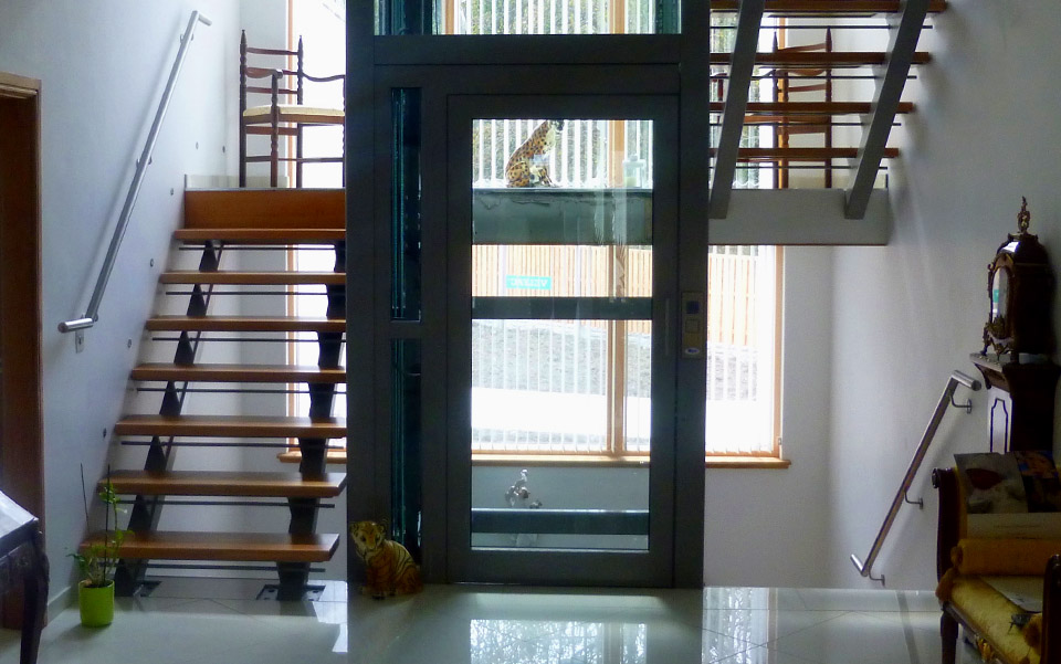 Designed with it's own Glass and or Steel enclosure, these Home Lifts can add that touch of quality to your home