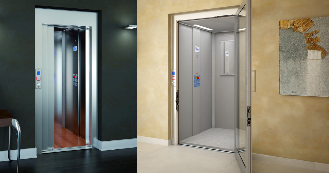 A range of home shaft lift solutions enabling you to travel between floors of your home with ease and comfort